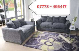 Jumbo Cord Corner Or 3+2 seater Sofa