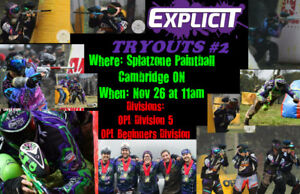 Team Tryouts THIS SUNDAY!!