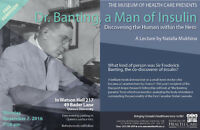 Dr. Banting, a Man of Insulin