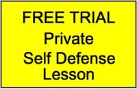 Learn Faster Private Self Defense Lessons! FREE Trial Lesson!