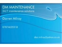 Plumber, fully qualified and fully insured.