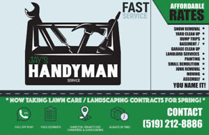 Landlord Services, Junk Removal, You Name it - Handyman Services