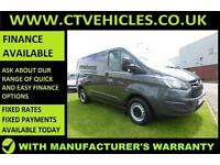2015 65 Ford Transit Custom 2.2TDCi 290 L1H1 MAGNETIC GREY, LOW MILEAGE