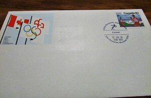XXI Olympiad Montreal 1976 Souvenir 25 Issue Covers Kitchener / Waterloo Kitchener Area image 4