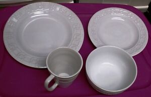 SET OF 4 PFALTZGRAFF TRADITIONS CHINA