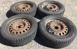 Winter Tires Studded (with Wheels)