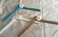 Bride wedding dress hangers $10
