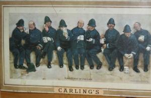 Ancienne annonce de la brasserie CARLING'S