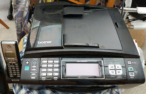 Printer Inkjet Brother All in One Print, Scan, Fax, Phone $15