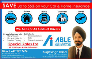 Cheap & Best Auto, Home Insurance For High\Low Risk Drivers