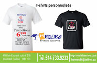 CUSTOMIZED PRINTING T-SHIRTS