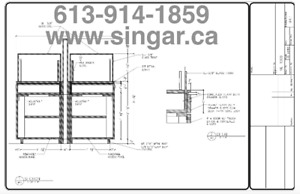 Millwork/ Shop Drawings/As Built Drawings/Trade shops CAD