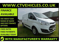 2015 65 Ford Transit Custom 2.2TDCi 125ps 290 L1H1 Trend High spec WHITE