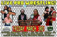 Ringside Wrestling 3rd Anniversary! Feat. Steel Cage Match!