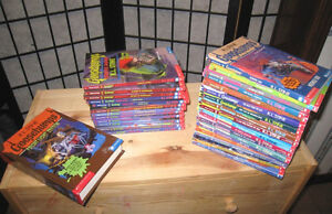 26 soft Books + 3-in-1 Hard book of Goosebumps R.L. Stine