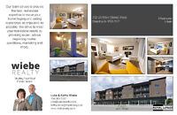 New Condo in Steinbach, Optional Rent To Own, Corner Unit!