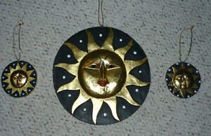 double sided Sun & Moon mobile plus 2 small ones ... take a look Cambridge Kitchener Area image 4