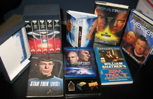Star Trek lot collection: Blu-Ray, 1974 Convention Program, Book