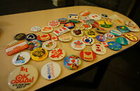 Lots of 33 Pieces - Vintage Canadian Pins - less than $1