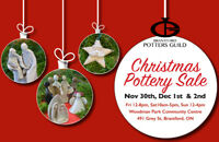 Christmas Pottery Sale