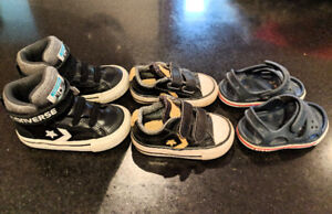 Baby/Toddler Shoes (Converse & Croc Sandals)