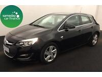 ONLY £164.56 PER MONTH BLACK 2013 VAUXHALL ASTRA 2.0 SRI AUTOMATIC DIESEL