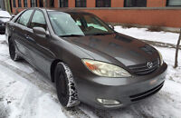 2002 Toyota Camry XLE V6 Sedan GREAT CONDITION / CONDITION A1