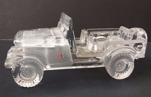 MAGIC CRYSTAL CAR Figurine (Frosted Interior) ~ AS NEW ~ $45.00