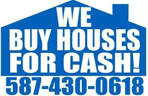 ™ Got a small, old, damaged house? We'll buy it AS IS in a week!