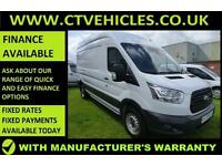 2014 64 Ford Transit 2.2TDCi 125PS RWD 350 L3H3 HIGH ROOF LWB 125BHP