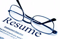 Develop your Resume - Make yours great at EEC!