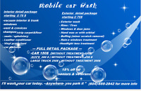 mobile car wash / car / car wash / clean /cleaning / tire / rims