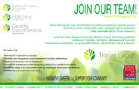 Join Our Team! Permanent Part Time and Casual
