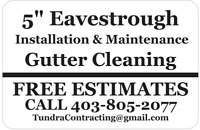 Repair or replace your leaking Eavestrough Cheap!