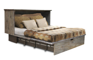SALE!! Sleep Chest- Bed- Fold Away- Small Spaces - Murphy Bed