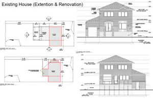 ARCHITECTURE SERVICES- PERMITS FOR CONTRACTORS-HOME OWNERS