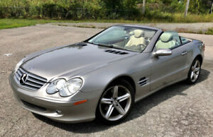 2005 Mercedes SL500 Roadster Fully loaded