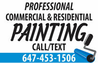 $1 SQFT PRO PAINTING CALL/TEXT 647 453 1506