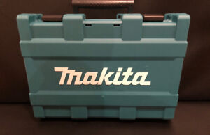 Makita NEW plastic carrying case for drill & driver combo kit