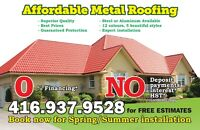 Affordable Metal Roof & Aluminum Roofing