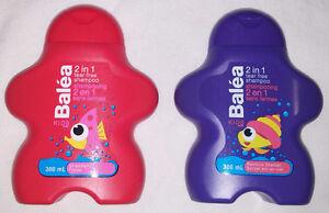 Balea 2 in 1 Tear Free Shampoo Strawberry & Rainbow Sherbet NEW