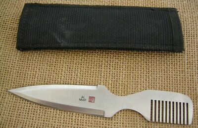 AL MAR Vintage Wild Hair Comb Dagger, Nylon Sheath, 7003