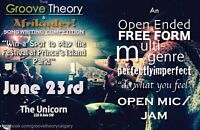 ATTN Bands the Afrikadey & Groove Theory Songwriting Competition