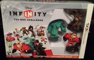 3DS Disney Infinity Ensemble de départ (Vente/Echang) +de 40 jeu