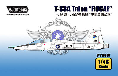 """WOLFPACK WP10010 T-38A Talon """"ROCAF"""" in 1:48"""