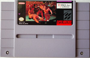 SUPER NES PIT FIGHTER VIDEO GAME CARTRIDGE - 1992