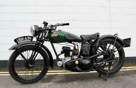 1938 BSA B20 250cc - A Very Rare Pre-War Vintage Model