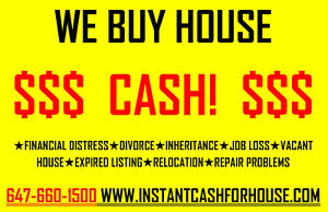 GET YOUR CASH OFFER TODAY!