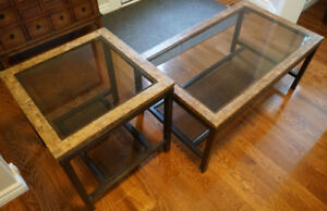 Matching Coffee & End Table - Excellent Condition!