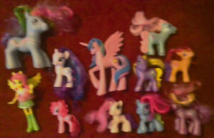 MLP Gen 3 & Friendship is Magic: Figurines, Plushs, and Book